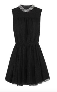 Saint Laurent Studded floral-lace mini dress Preview Images