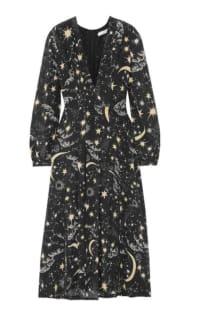RIXO London Camellia silk crepe midi dress Preview Images