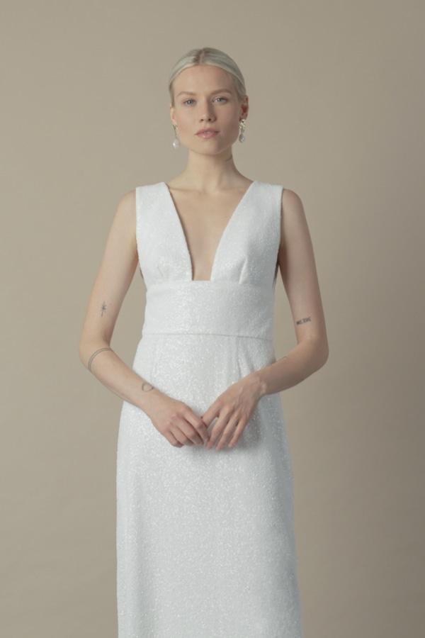 Image 4 of The Own Studio sequin column dress
