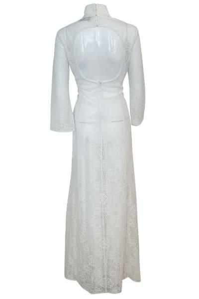 A.W.A.K.E. Lace Maxi Dress 3