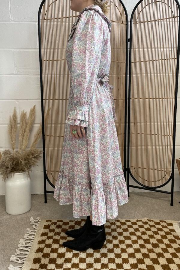 Sigrid Maria Sigrid dress - pink blossom 2 Preview Images