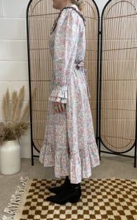 Sigrid Maria Sigrid dress - pink blossom 4 Preview Images
