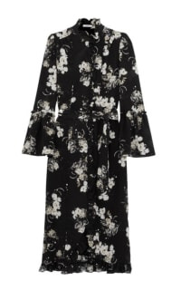 Erdem Siren floral midi dress Preview Images
