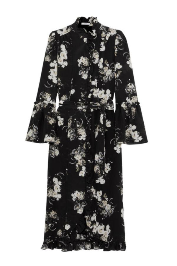 Erdem Siren floral midi dress