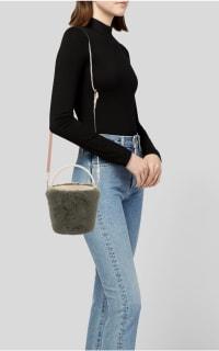 Cafune Mini Basket Bag - Fur Preview Images