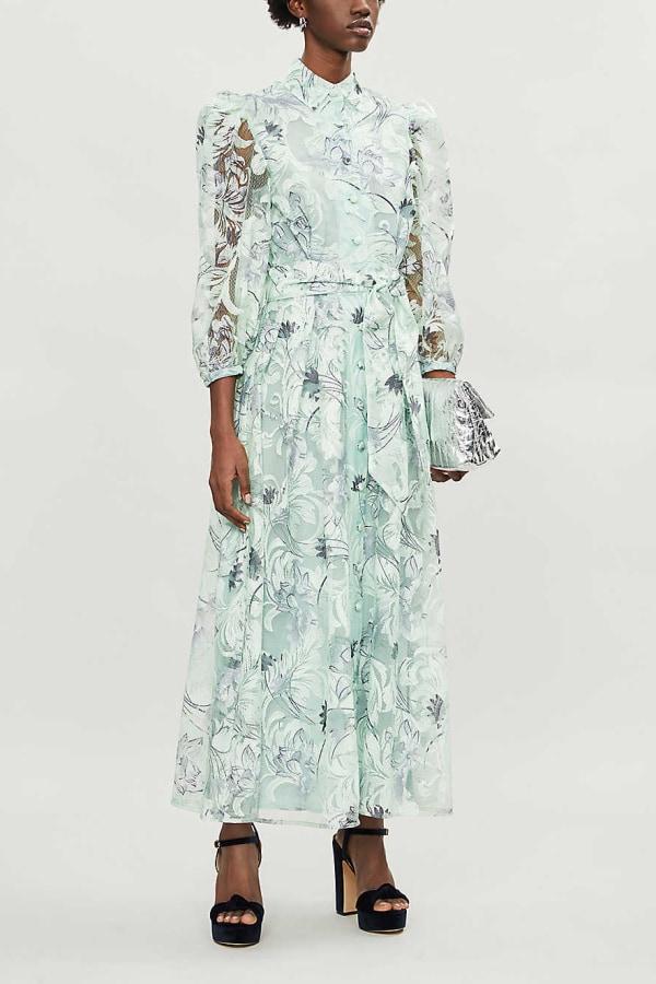 Image 2 of Olivia Rubin peony dress