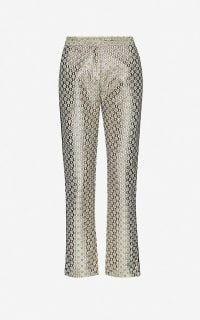 Maje Straight high-rise trousers 3 Preview Images