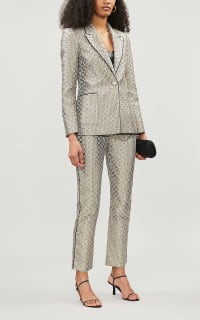 Maje Straight high-rise trousers 2 Preview Images