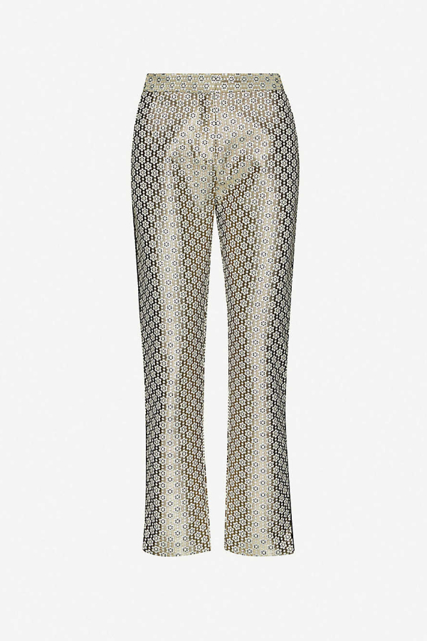 Maje Straight high-rise trousers 3