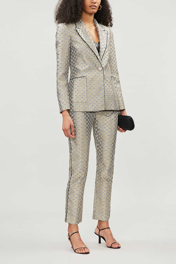 Maje Straight high-rise trousers 2