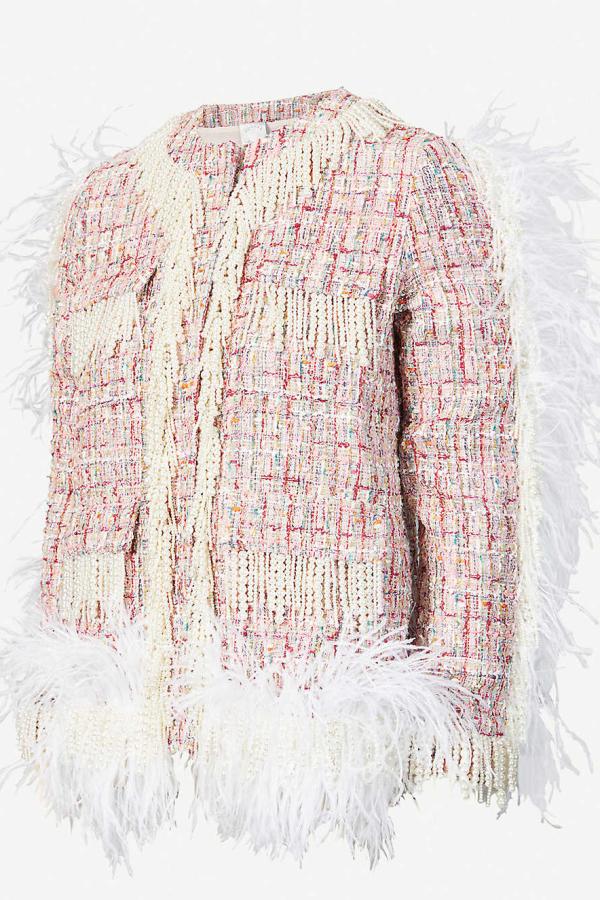 Huishan Zhang Cecil embellished jacket 4