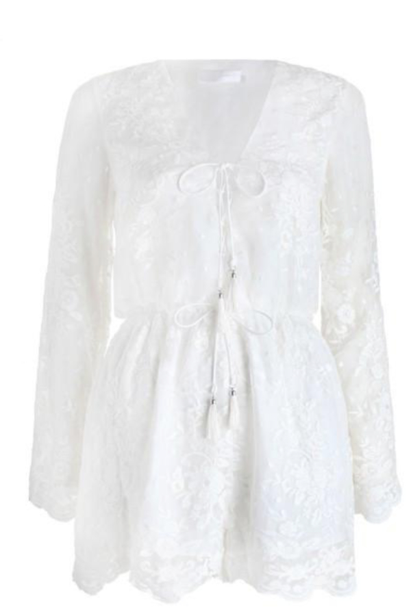 Zimmermann Roza Silk Veil Playsuit 3