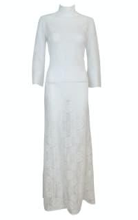 A.W.A.K.E. Lace Maxi Dress Preview Images