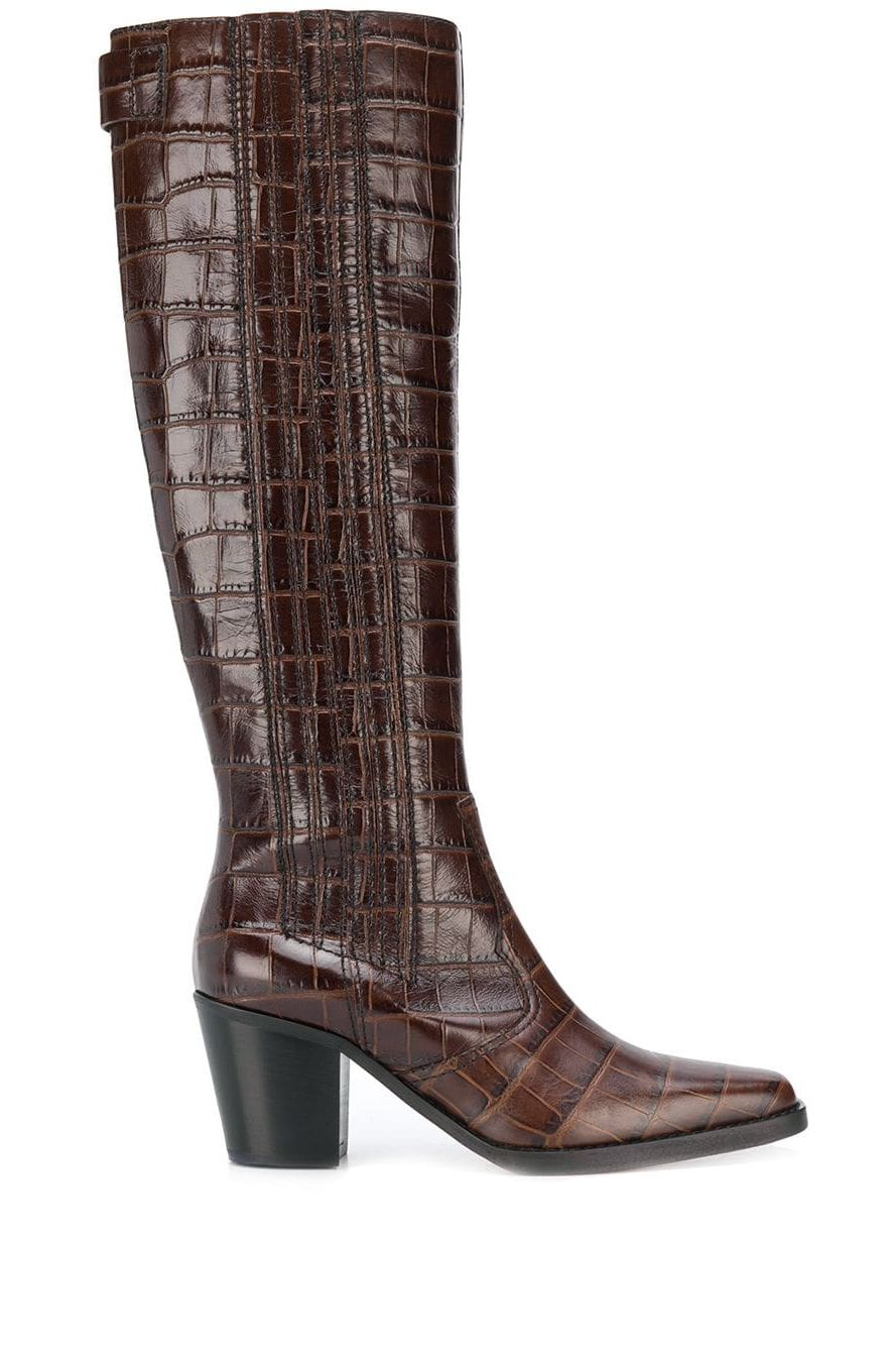 Ganni Western Knee High Boots  Preview Images