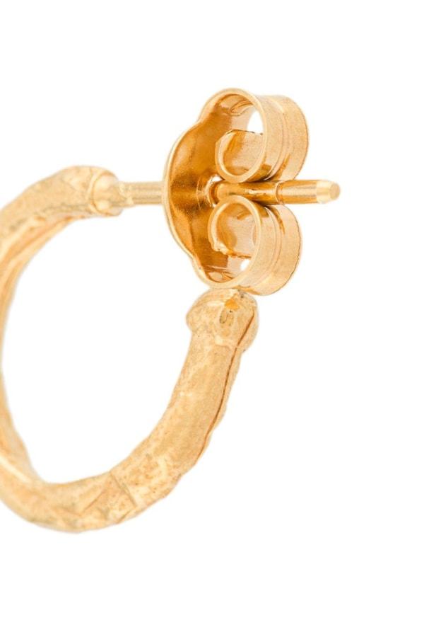 Image 3 of Alighieri the morning hour hoop earrings