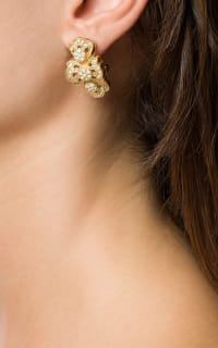 Christian Dior 1980s strass earring 3 Preview Images
