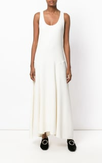 Theory Scoop neck maxi dress 4 Preview Images