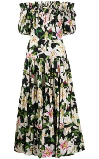Dolce & Gabbana Floral dress Preview Images