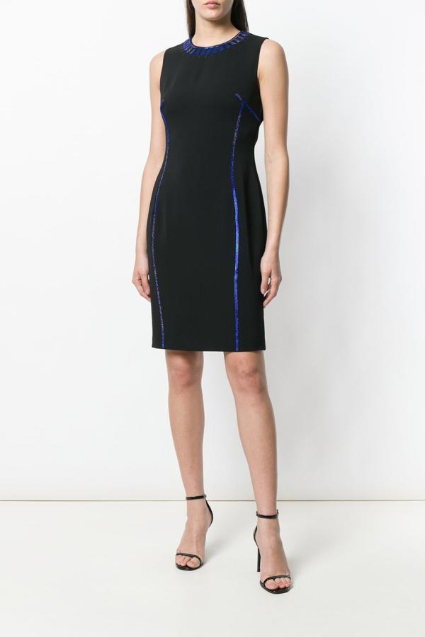 Versace Crystal-embellished dress 2