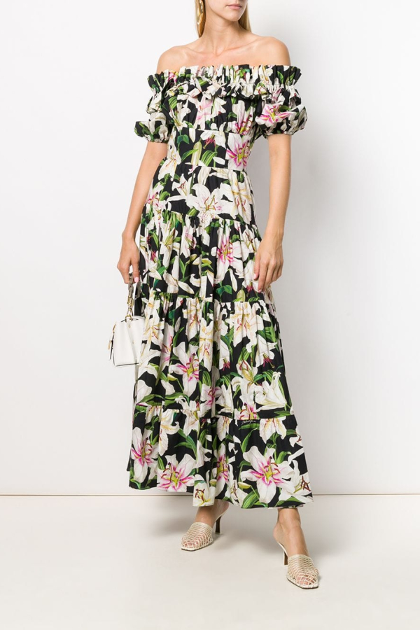 Dolce & Gabbana Floral dress 2