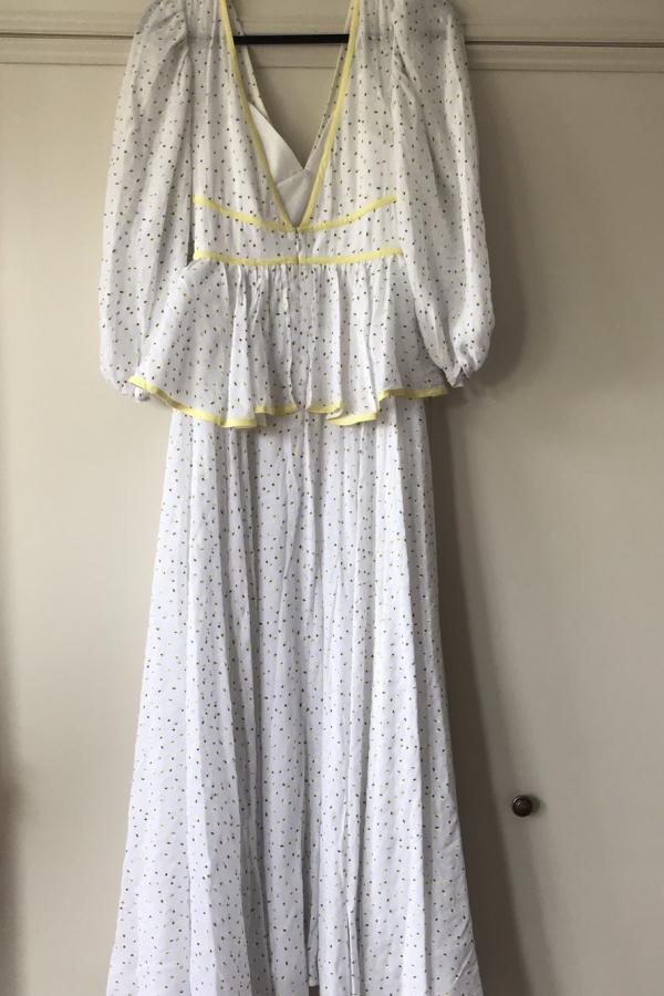 Staud Panarea floral maxi dress  8