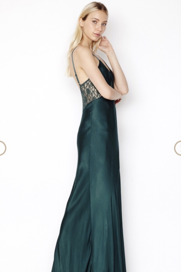 Ghost Silk Maxi Dress  2