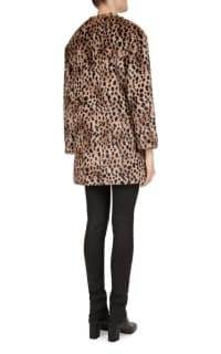 Gerard Deral Mischa Faux Fur Leopard Coat 3 Preview Images