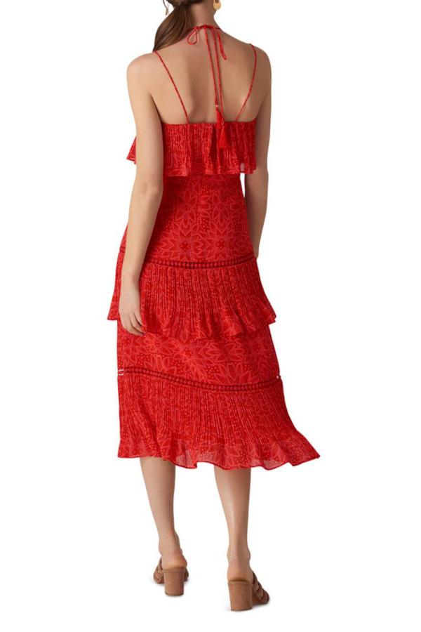 Whistles Riya Printed Dress