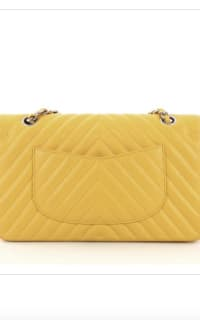 Chanel Double Flap Chevron Bag 2 Preview Images