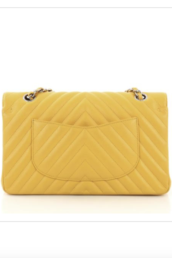 Chanel Double Flap Chevron Bag 2