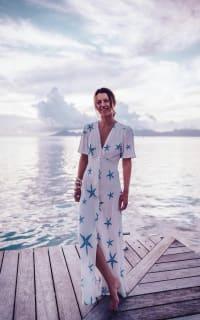RIXO London Jade printed crepe midi dress 3 Preview Images