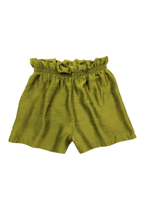Image 1 of Magpie Vintage raw silk shorts