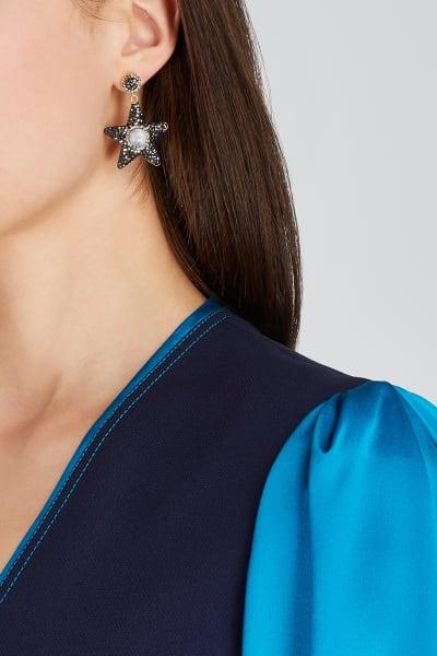 SORU Moonstone Star Earrings 2