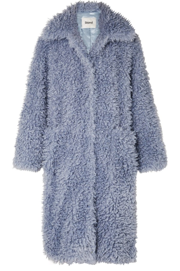 Image 1 of Stand Studio taylor faux shearling coat