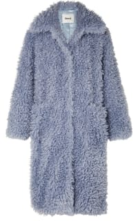 Stand Studio Taylor Faux Shearling Coat Preview Images