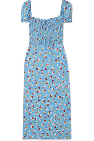 Faithfull The Brand Castilo floral midi dress