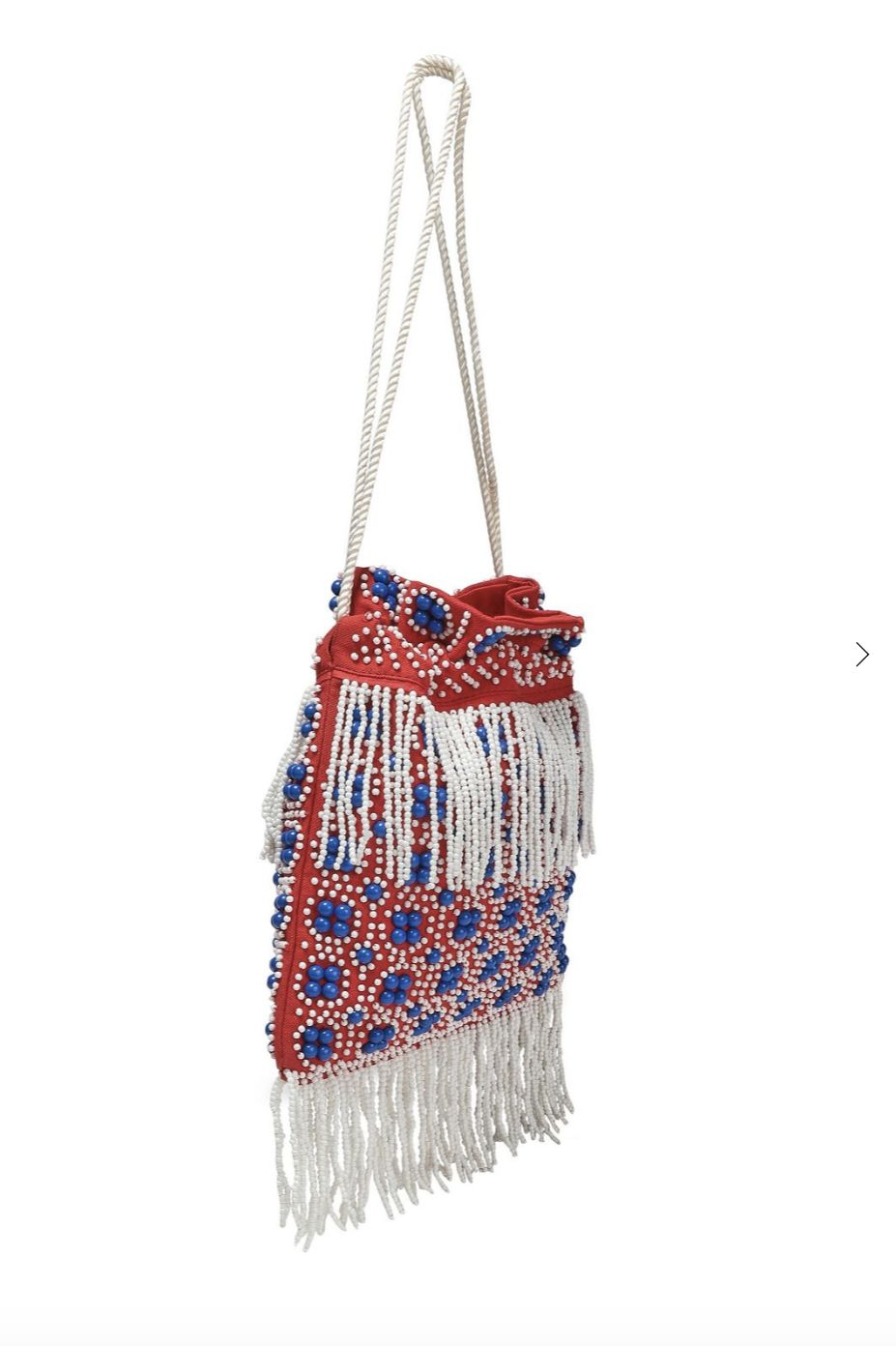 Staud Lance beaded fringed bag 2 Preview Images