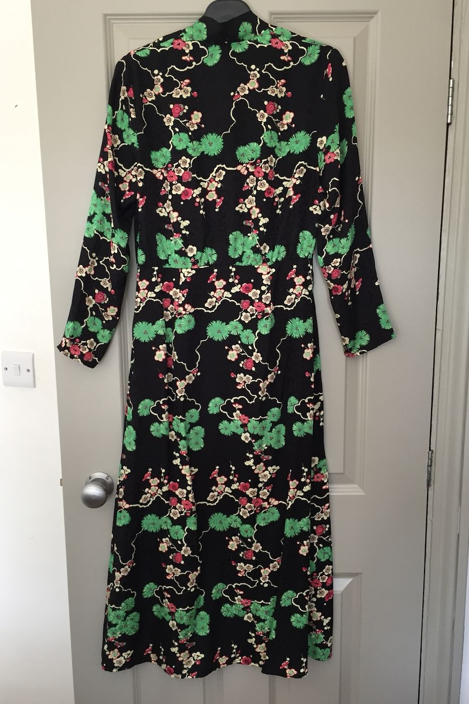 RIXO London Stella printed silk-jacquard midi dress 2 Preview Images