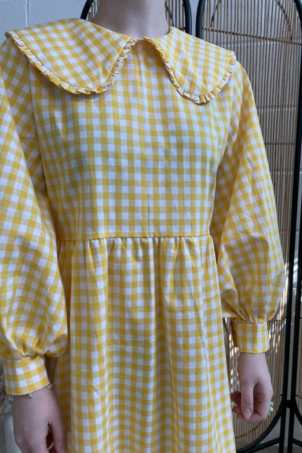 Image 4 of Megan Crosby heli exclusive dress