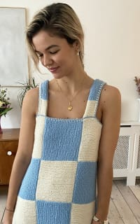 Freya Simonne Remy Checkerboard Dress 4 Preview Images