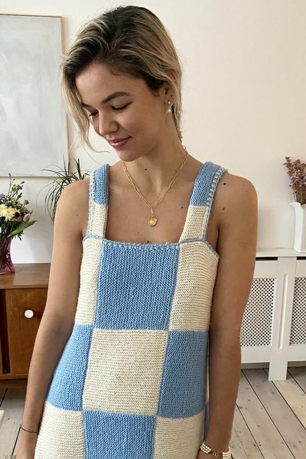 Freya Simonne Remy Checkerboard Dress 4