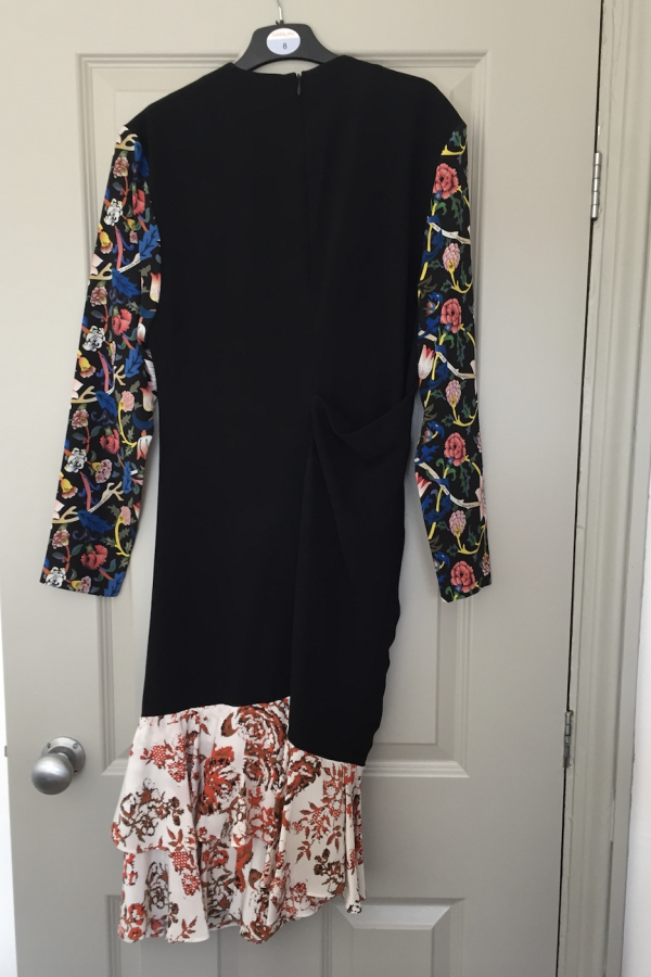 JW Anderson Floral Ruffle Dress 2