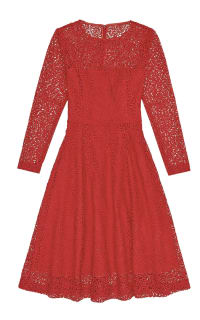 Reiss  Rhomona Lace Dress Preview Images
