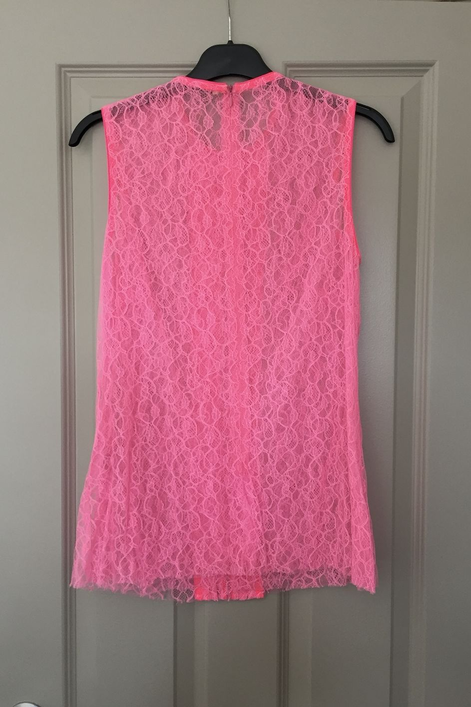 Christopher Kane Neon Lace Top