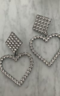 Alessandra Rich Crystal Embellished Earrings 3 Preview Images
