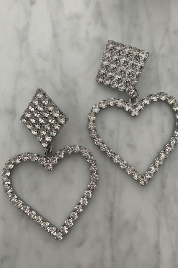 Alessandra Rich Crystal Embellished Earrings 3