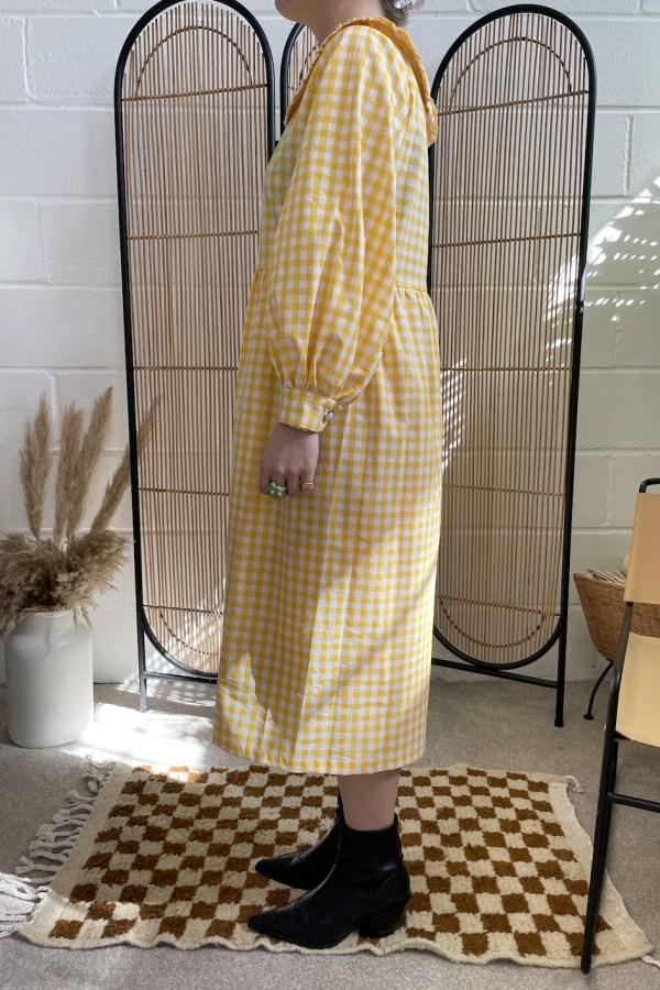 Image 2 of Megan Crosby heli exclusive dress