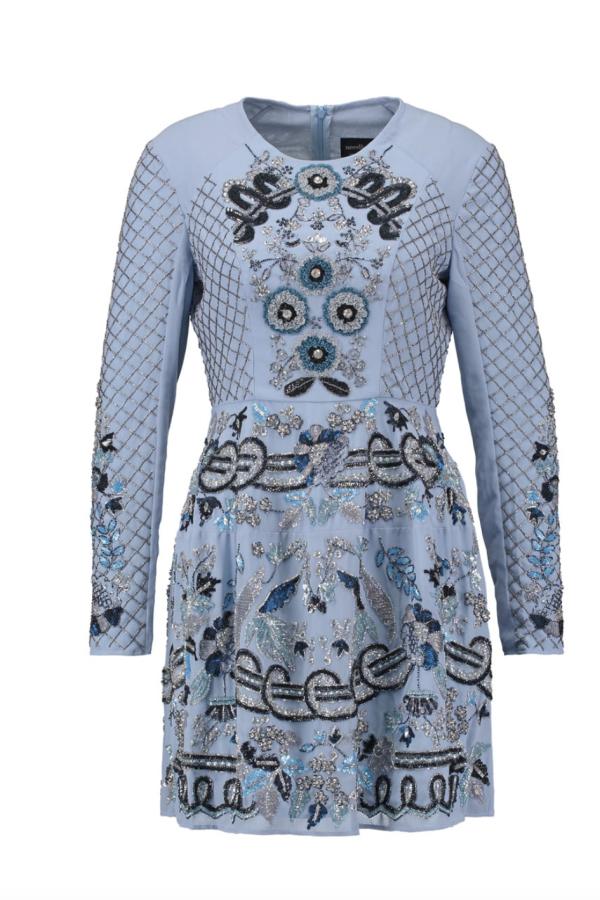 Needle & Thread Embellished Midi Dress 5