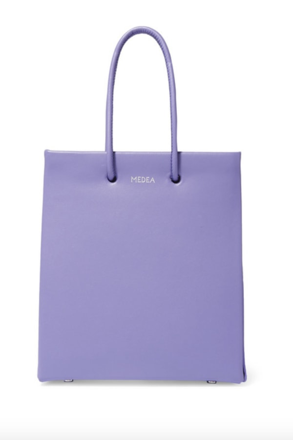Medea Prima Short leather tote 0 Preview Images