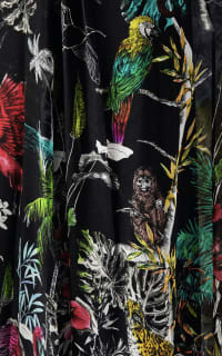 Matthew Williamson Midnight Jungle Silk Gown 4 Preview Images